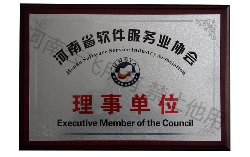 河南省软件服务业协会理事单位