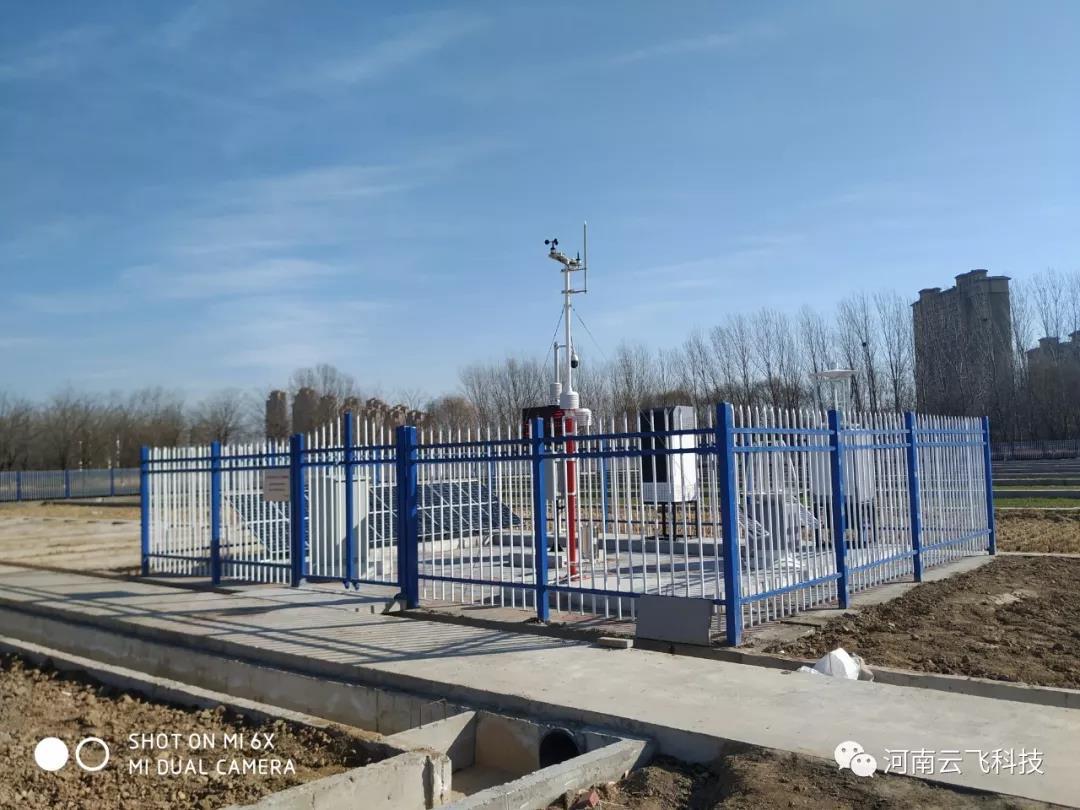 云飞科技在农科院示范基地建设的病虫害观测站